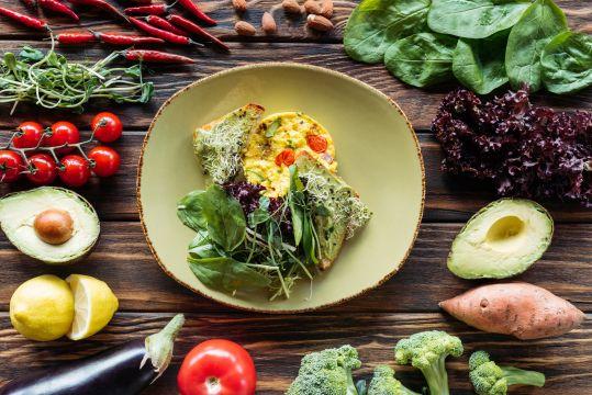 Dieta wegetariańska na co dzień 2200 kcal – darmowy jadłospis