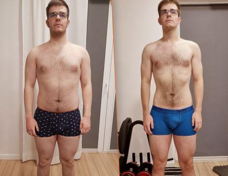 Czarek schudł 15 kg, zmniejszył o 60% insulinooporność i o 30% cholesterol