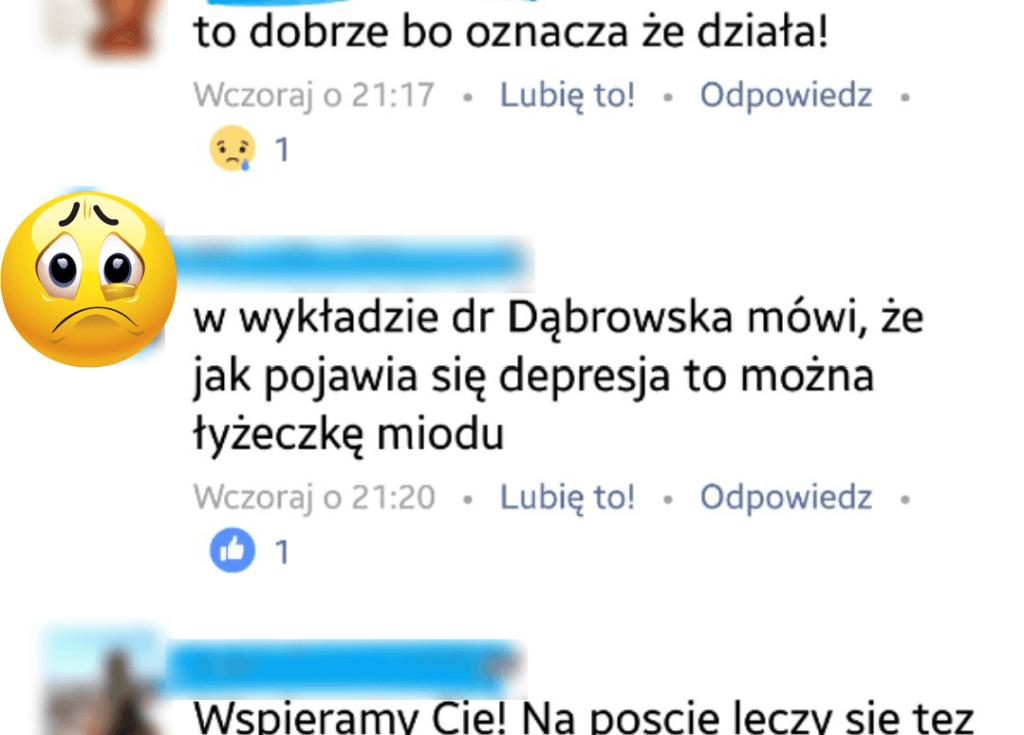 Komentarz z Facebooka