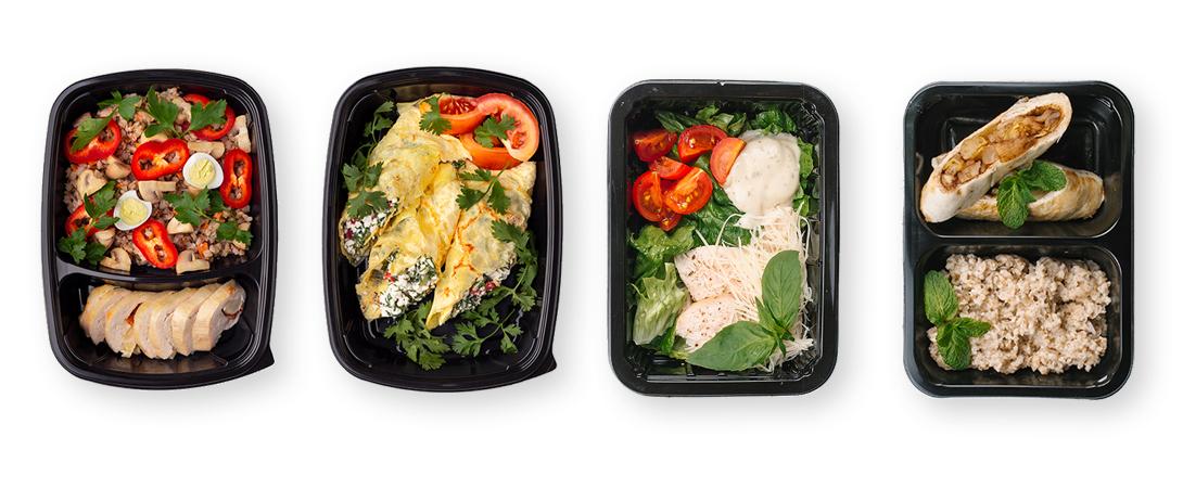 Dieta pudełkowa - posiłki