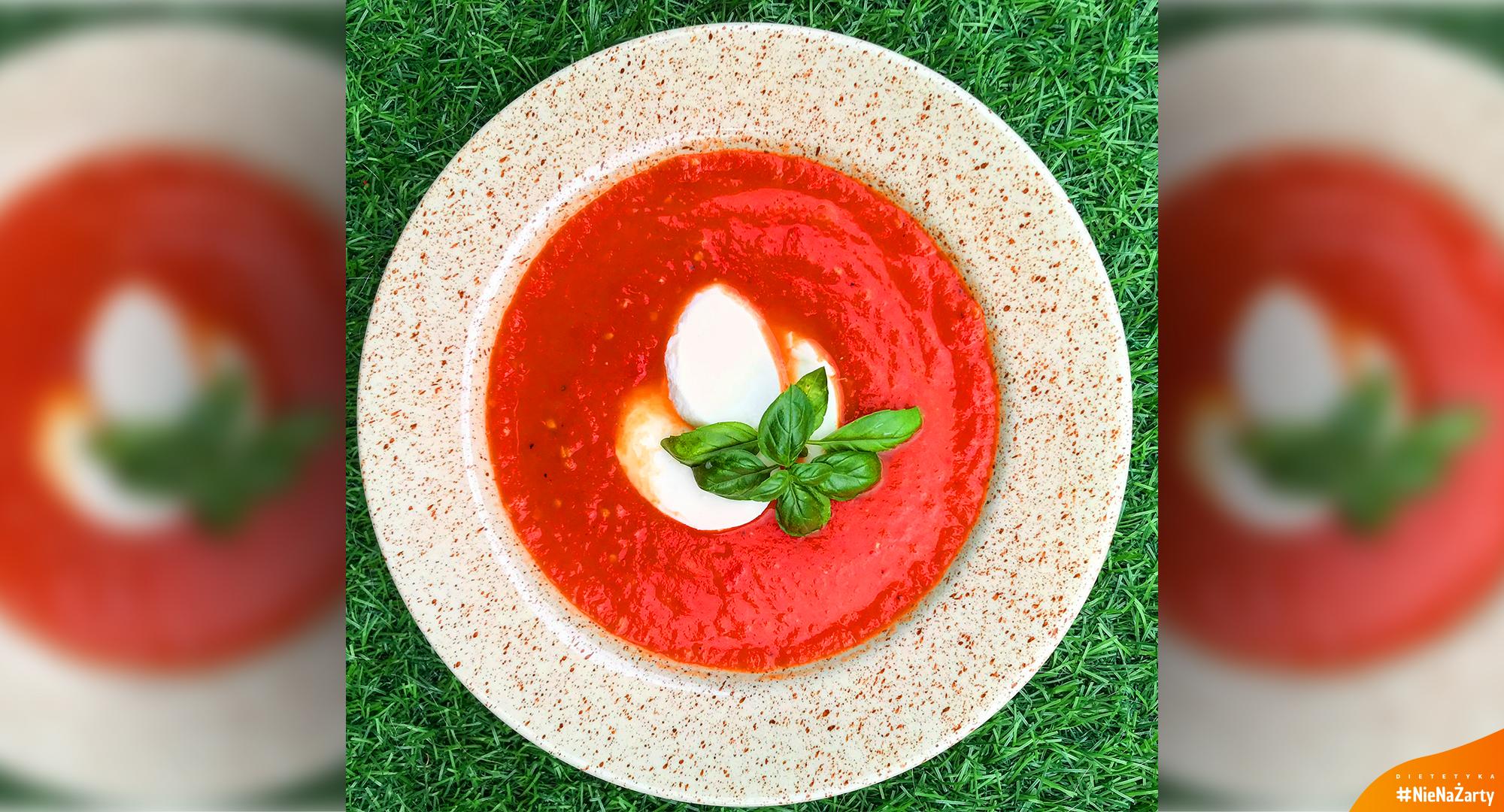 Dieta 1600 kcal - Krem z pomidorów
