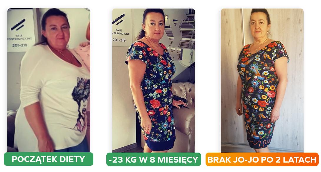 Przemiana 24 kg w 8 miesięcy - efekt po 2 latach